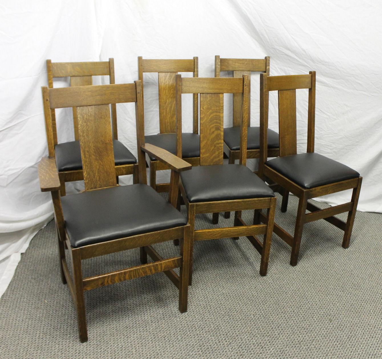Bargain Johns Antiques  Antique Mission Oak Dining Set