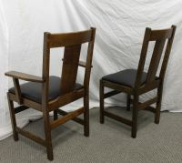 Bargain John's Antiques | Antique Mission Oak Dining Set ...