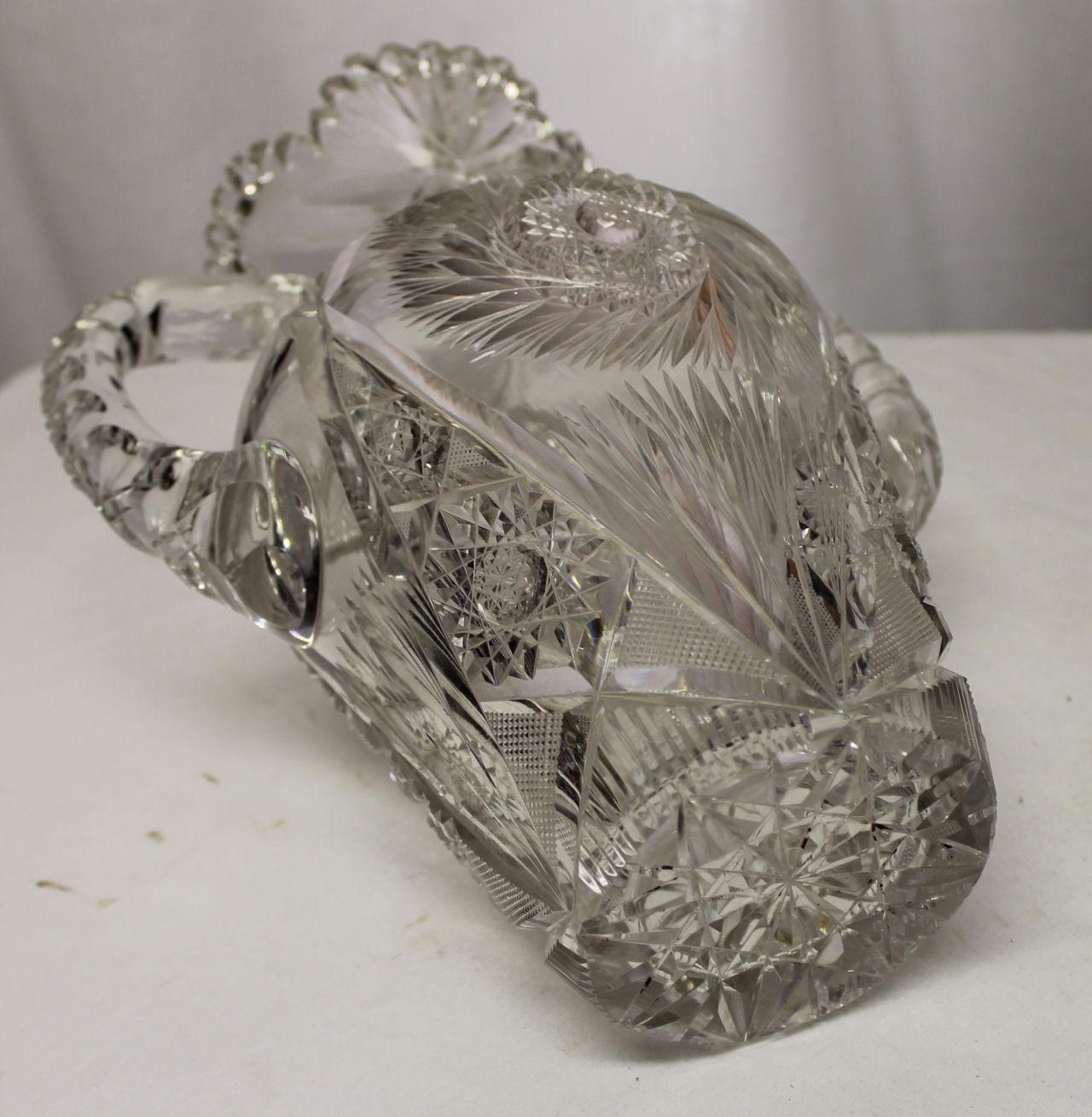 Bargain Johns Antiques  Brilliant Cut Glass Large