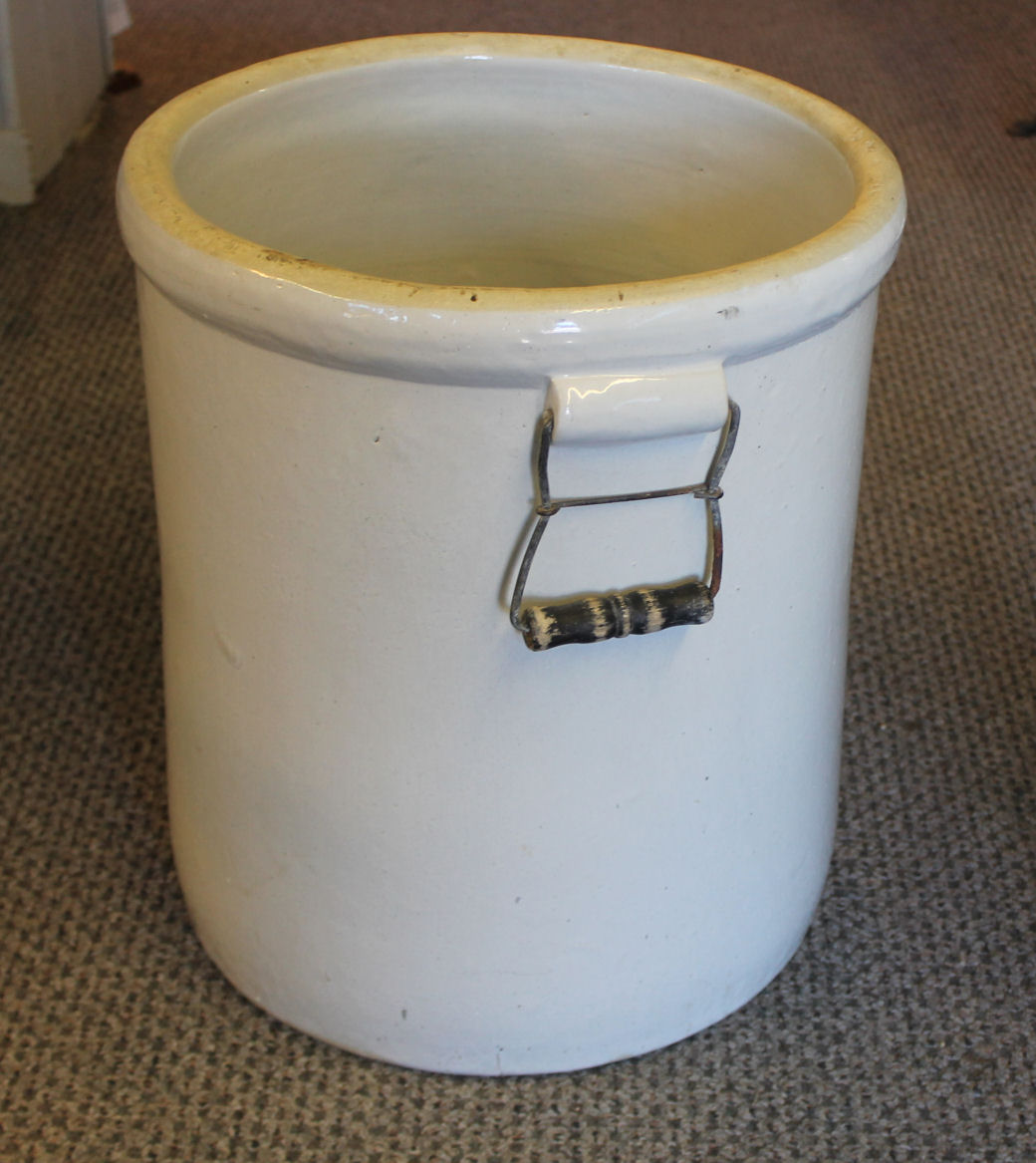 Bargain Johns Antiques  10 Gallon Western Crock with