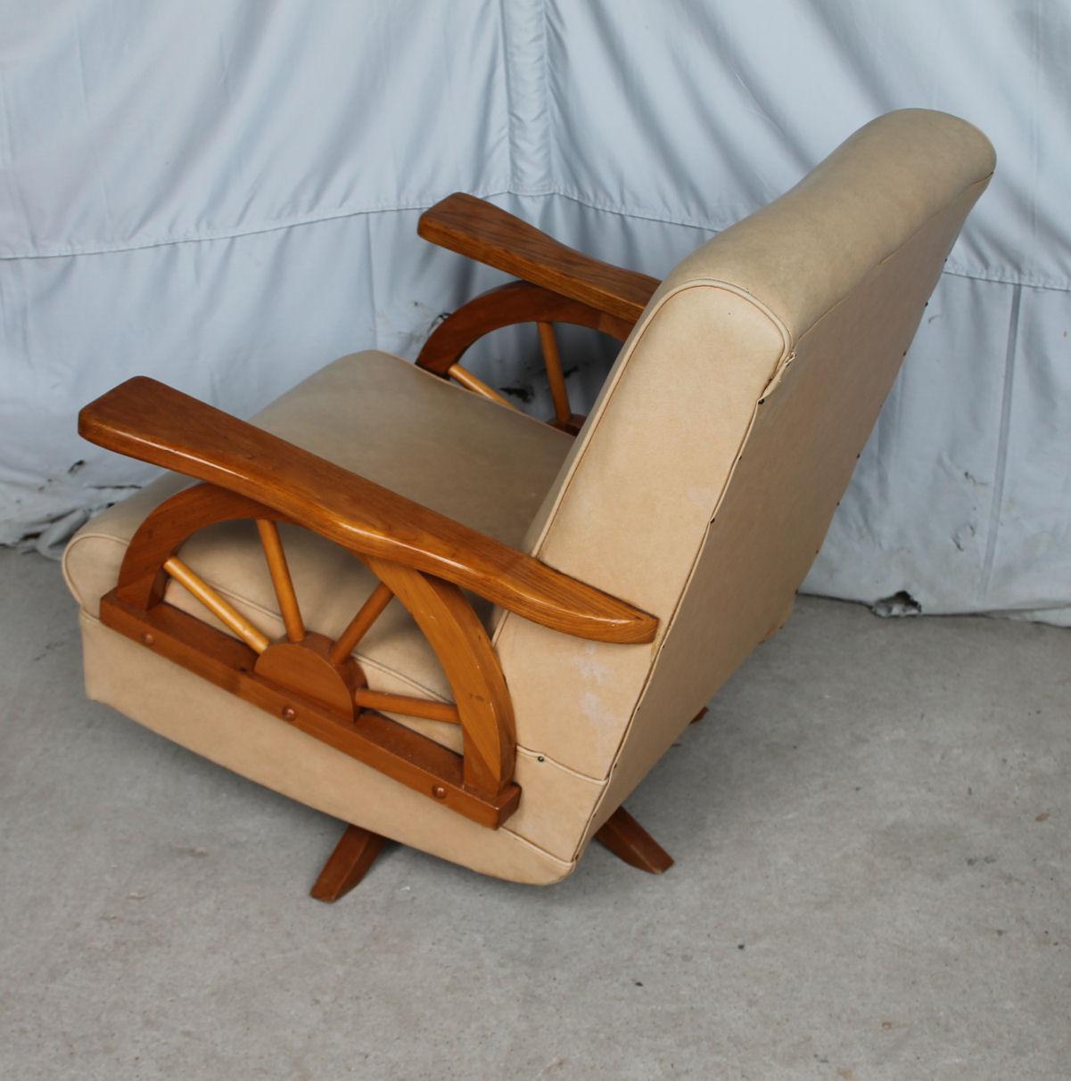 Bargain Johns Antiques  Cowboy Furniture  Wagon Wheel