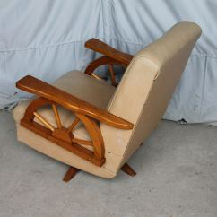 Wagon Wheel Chair Early American Chairs Bargain John 39s Antiques Cowboy Furniture