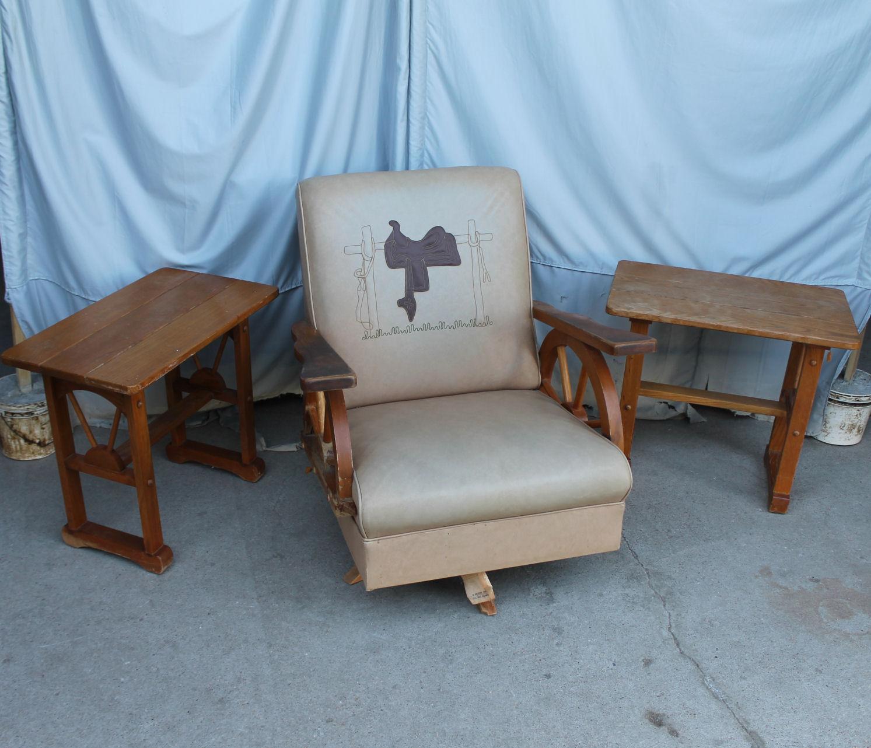 wagon wheel chair modern chairs for sale bargain john 39s antiques cowboy furniture