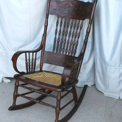 Bent Wood Rocking Chair Blue And White Accent Bargain John 39s Antiques With Dragons In