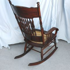 Cane Back Chairs Antique Mesquite Dining Bargain John's Antiques | Rocking Chair With Dragons In The - Bentwood Arms John ...