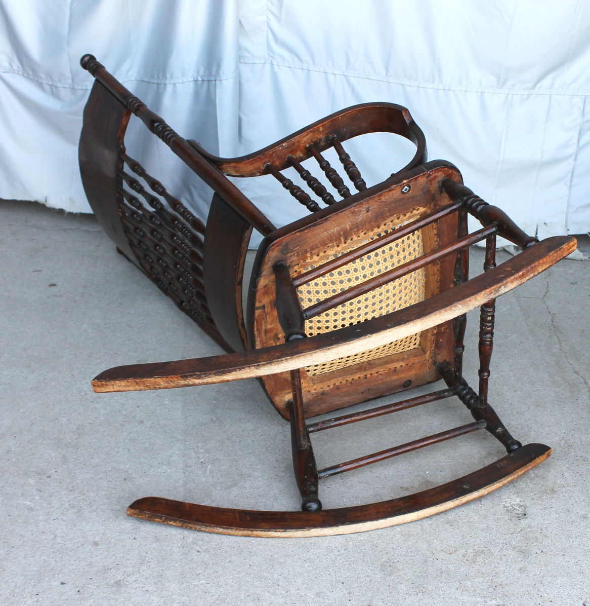 bent wood rocking chair massage recliner bargain john 39s antiques with dragons in