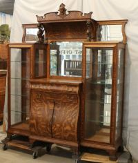 Bargain John's Antiques | Antique Oak Double China Buffet ...