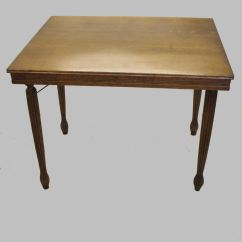 Antique Folding Rocking Chair Yellow Metal Chairs Bargain John's Antiques | Quarter Oak Card Game Table -