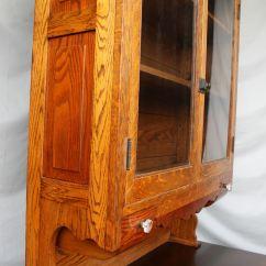 Country Kitchen Door Knobs Smart Appliances Bargain John's Antiques | Antique Oak Two Piece ...