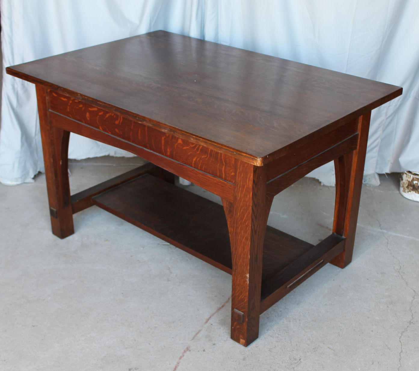 Bargain Johns Antiques Antique Mission Oak Library