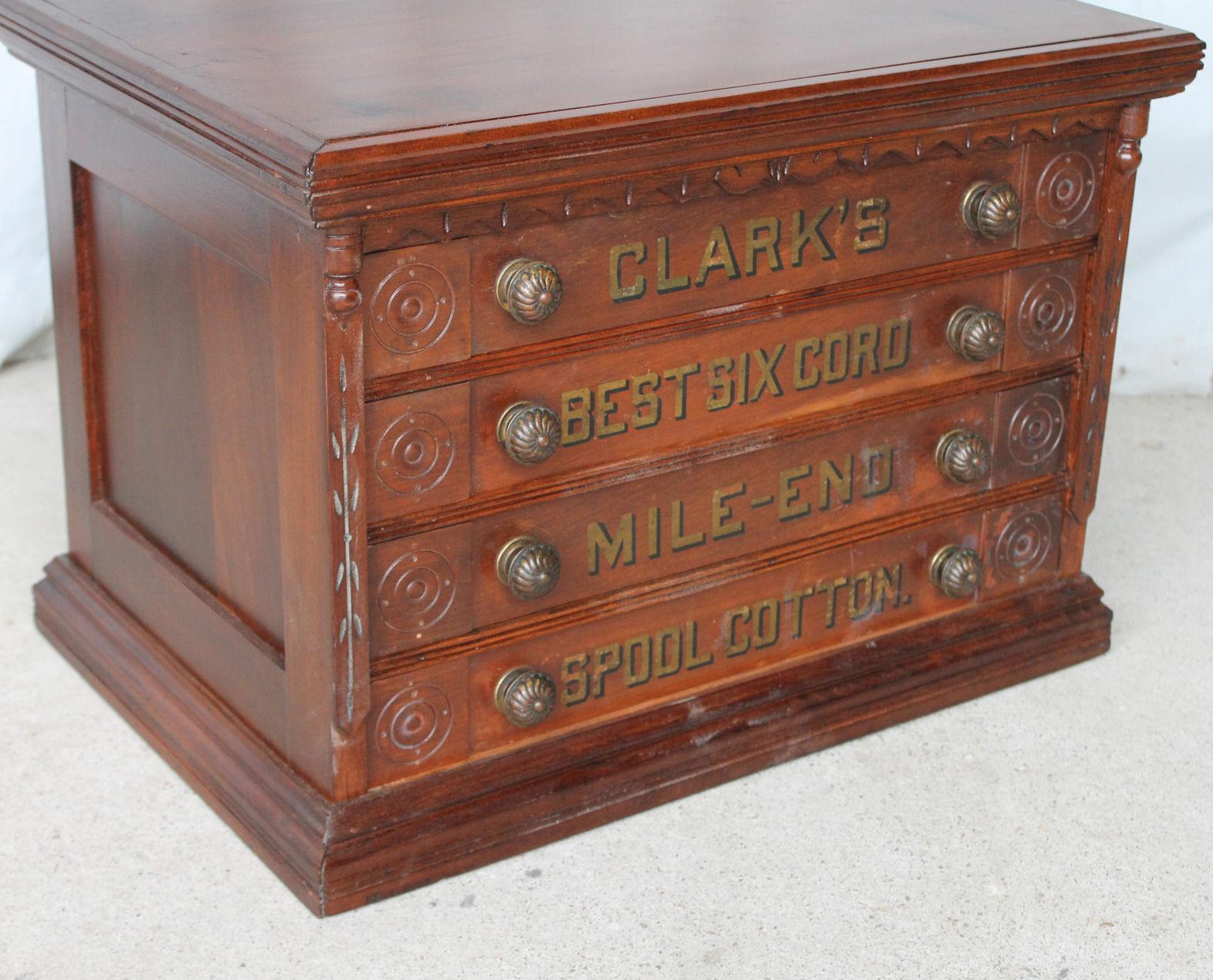 Bargain Johns Antiques  Antique Clarks four drawer