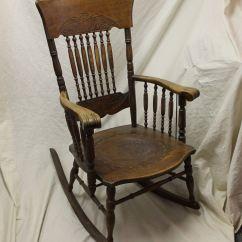 Antique Leather Chair Repair Desk Ergonomic Bargain John 39s Antiques Oak Armed Pressback