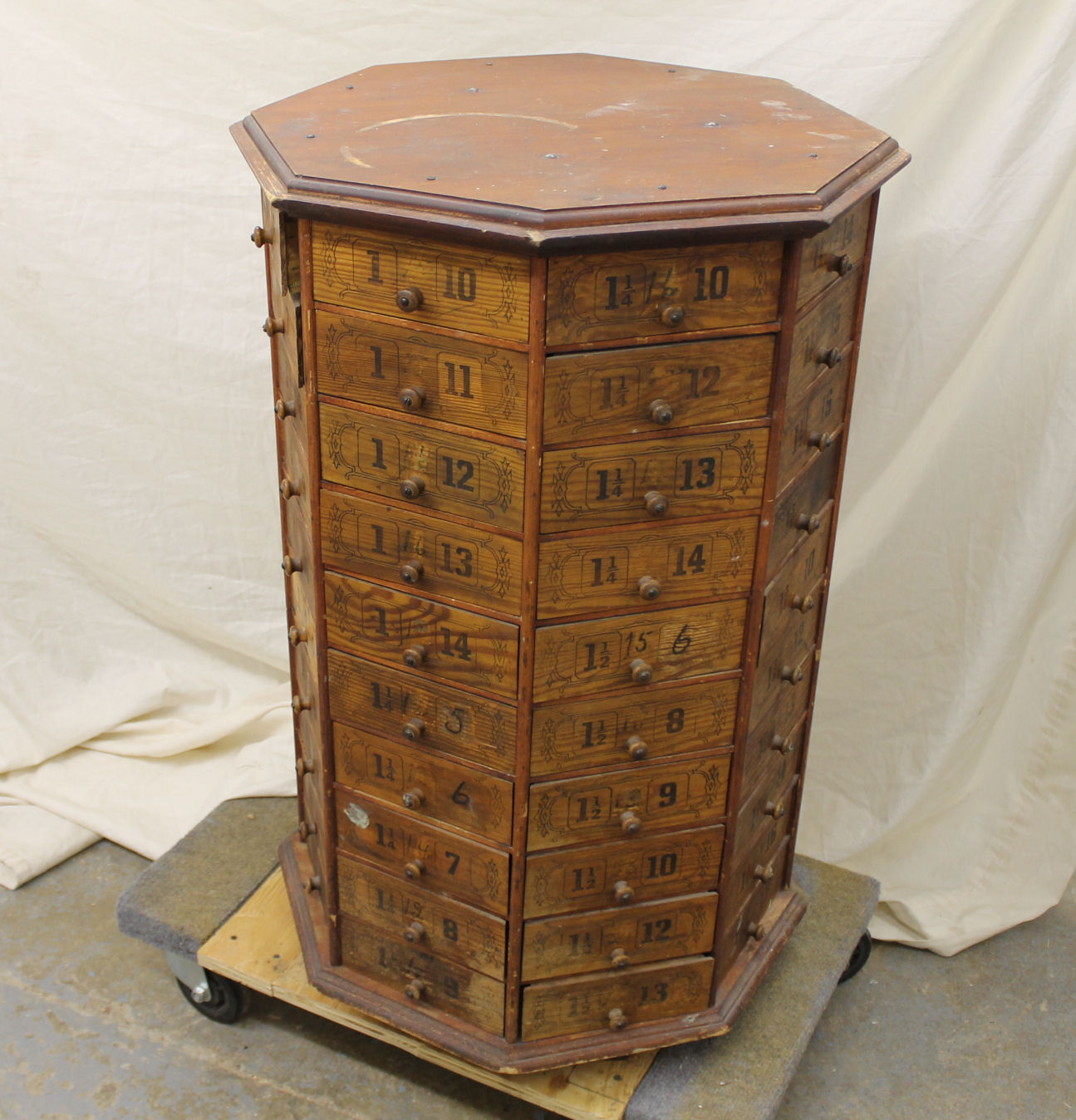 Bargain Johns Antiques  Antique Country Store pine Bolt