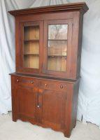 Bargain John&39;s Antiques   1880&39;s Antique Walnut 2 Piece ...
