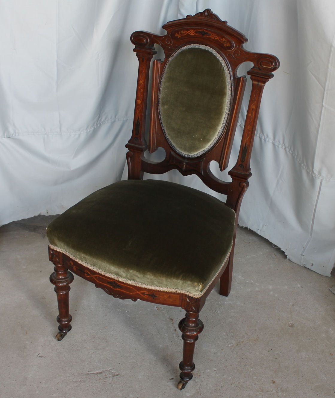 victorian rosewood chairs wing chair covers clearance uk bargain john 39s antiques side