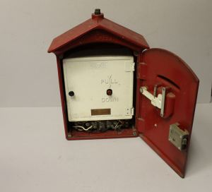 Bargain John's Antiques | Cast Iron Fire Alarm Box with