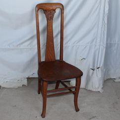 Antique Vanity Chair Waiting Room Chairs Bargain John 39s Antiques Quarter Sawn Oak