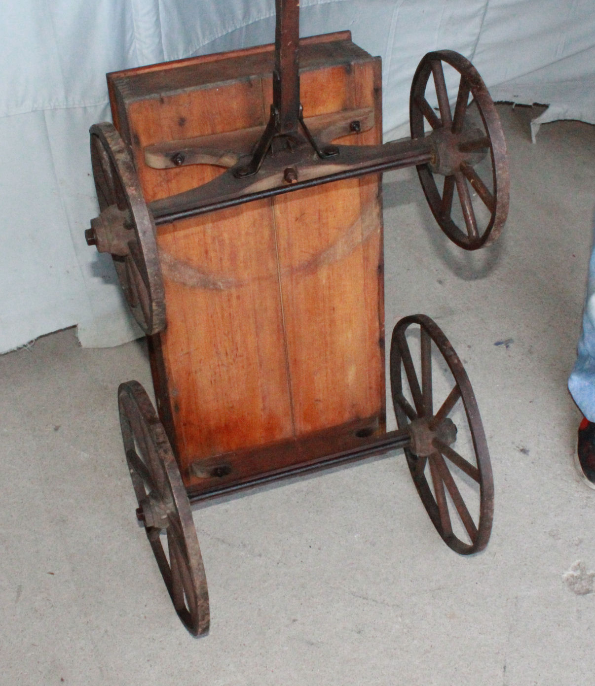 Bargain Johns Antiques  Antique Express Wooden Childs