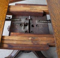 Bargain John's Antiques | Antique Round Oak Dining Table ...