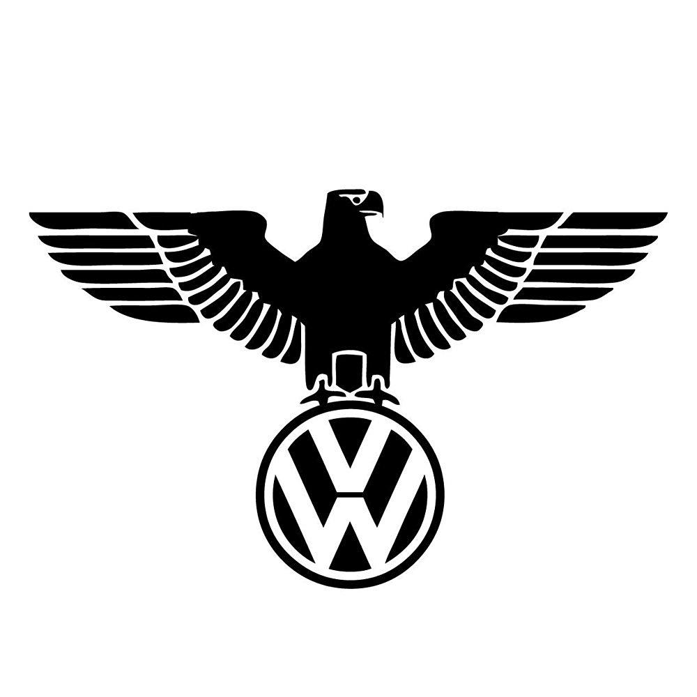 Volkswagon Eagle Sticker Decal Vinyl VW Golf GTI Jetta