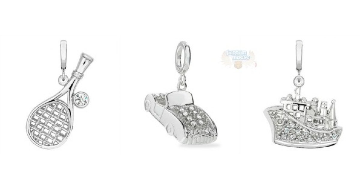 Peoples Jewellers Canada: Clearance Diamond Accent Charms