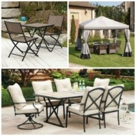 Patio Sets, Gazebos, Umbrellas Clearance Priced @ Walmart