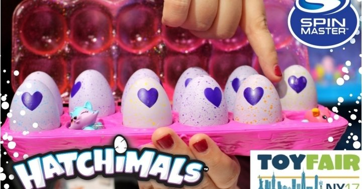 NEW Hatchimals Mini Hatching Eggs This May