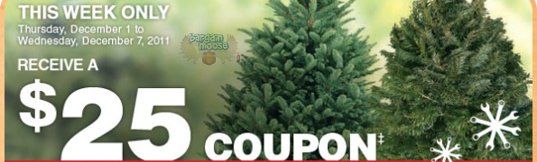Home Depot Canada Buy A Christmas Tree Amp Get 25 To Spend