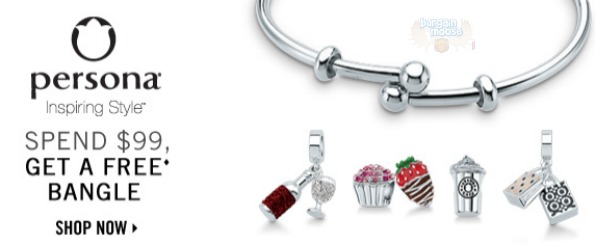 Peoples Jewellers Canada: Free Persona Bangle With Purchase