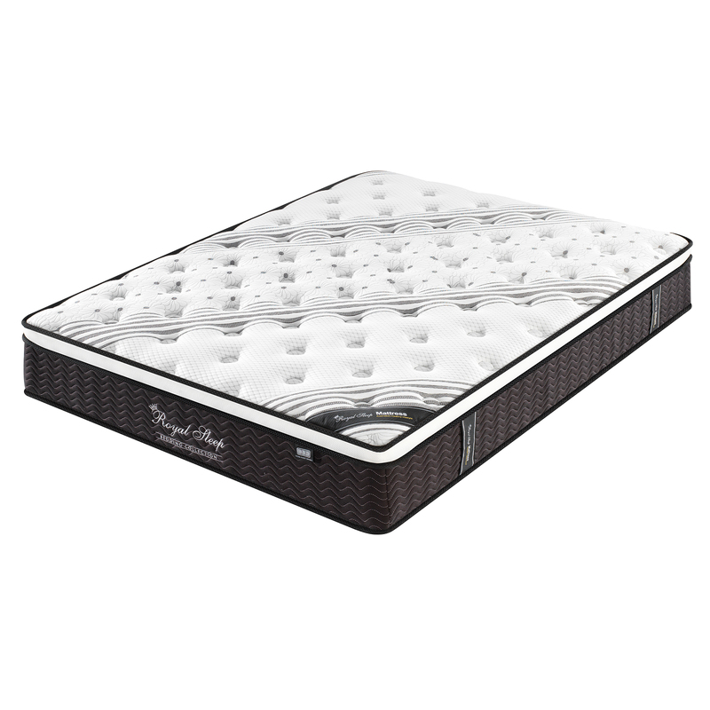 Royal Sleep 33cm Premium King Euro Top Mattress
