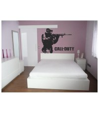 Soldier as wall sticker, wall decal.