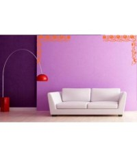 Flower roses wall decal for living room decoration ...
