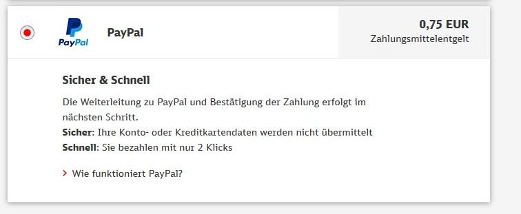 Wie hoch sind paypal gebühren