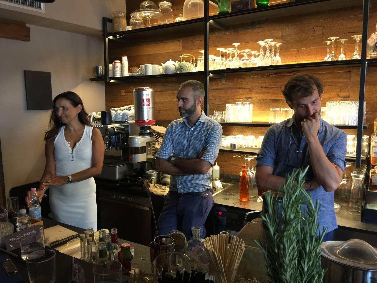 Filippo Laccu  il finalista italiano di Opihr Cocktail