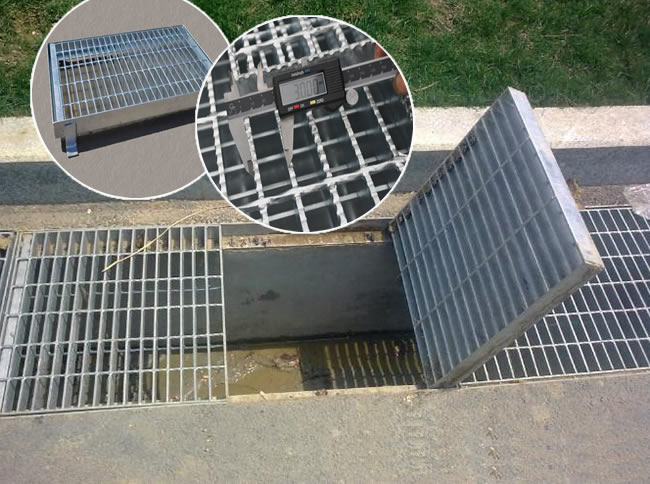 Steel Grate Drain Covers