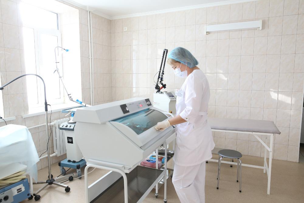 оснащенные корпуса по лечению ожиения , бандажированию желудка в Самаре