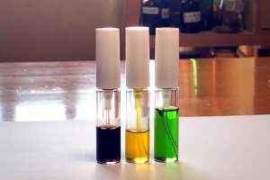 自然栽培の作物から抽出したフレグランスの色