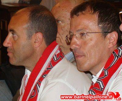 Alberti e Zavettieri, gli allenatori del Bari 2013/14. Ora si ritrovano in C da avversari