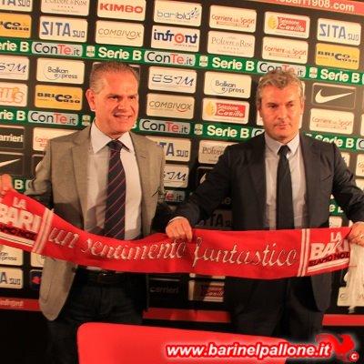 Giancaspro e Sogliano, ieri in Trentino per la sede del ritiro