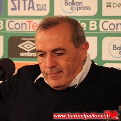 Fabrizio Castori: contro il Bari ida allenatore ha ottenuto 5 vittorie e 4 pareggi