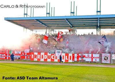 Tifosi della Team Altamura