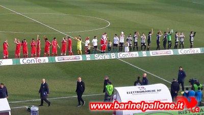 Bari e Ascoli, squadre in campo