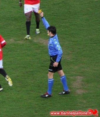 Gianluca Manganiello, arbitro designato per Bari-Verona