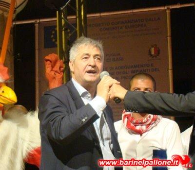 Guido Angelozzi, tecnico del Bari