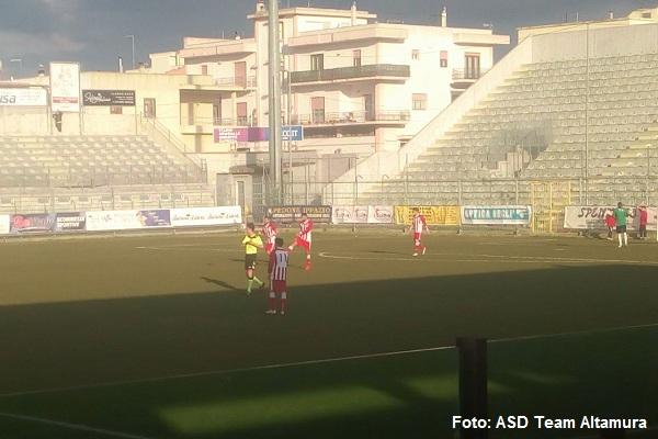 La Team Altamura sconfitta oggi a Casarano