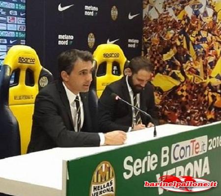 Fabio Pecchia, allenatore del Verona