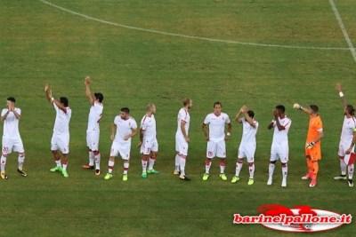 I giocatori del Bari