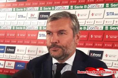 """Sogliano: """"Caro Bari, servono entusiasmo ed unione per vincere. A Salerno sarà gara a viso aperto""""  2017_09_06_sogliano"""