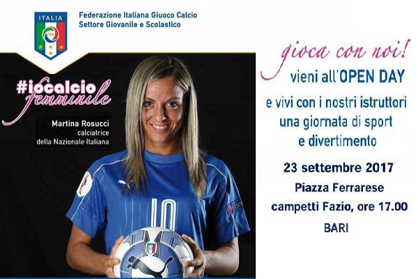 23/09/2017: Open day - FIGC