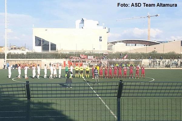 Pomigliano-Team Altamura 0-1